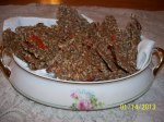 Fresh Pulp Flax Seed Crackers